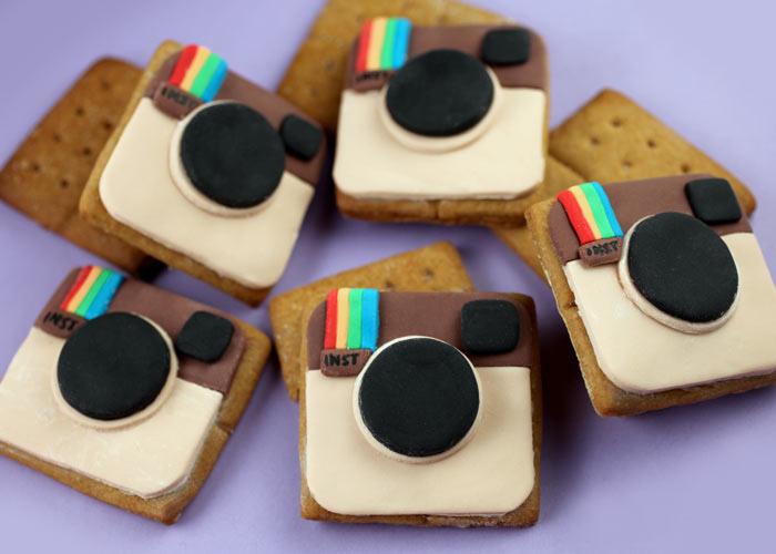 Instagramお菓子