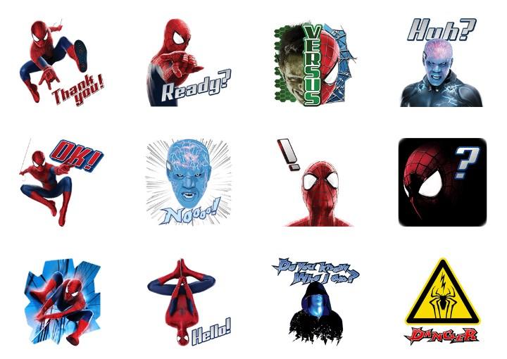 「アメイジング・スパイダーマン 2 」のLINEスタンプ一覧