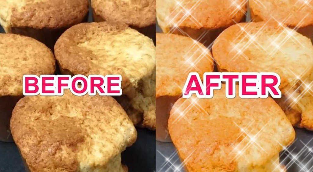 【バレンタイン】お菓子作りに失敗しても、画像加工すれば料理上手のいい女(風)!