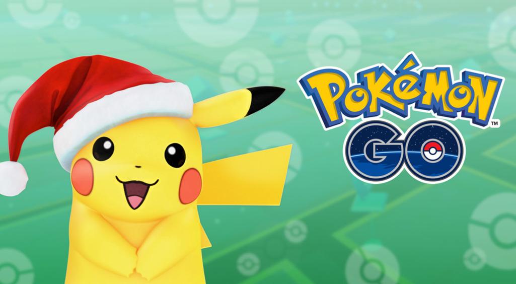 【ポケモンGO】クリスマスイベントが本日から開始。サンタピカチュウをゲットしよう♡
