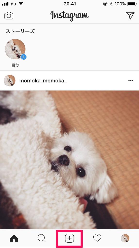 Instagram(インスタグラム)の投稿方法
