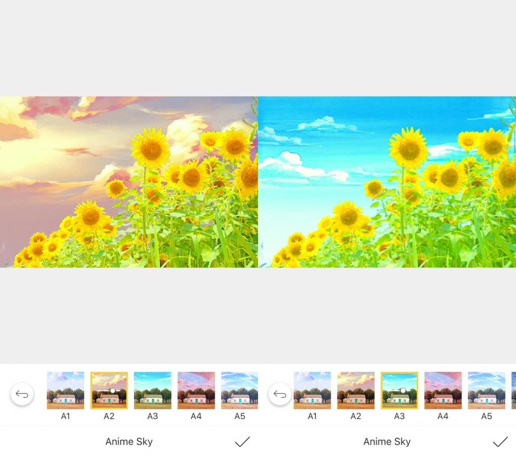 アニメ風画像加工Camera360