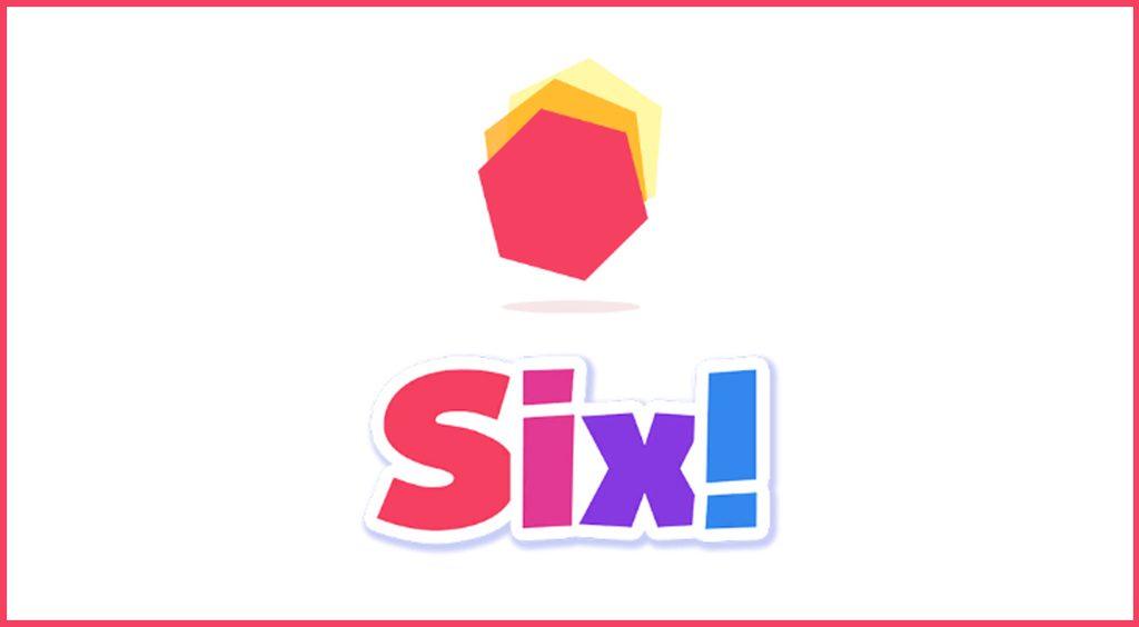 オシャレだるま落とし!?シンプルだけどハマる落下型物理パズル【six!】