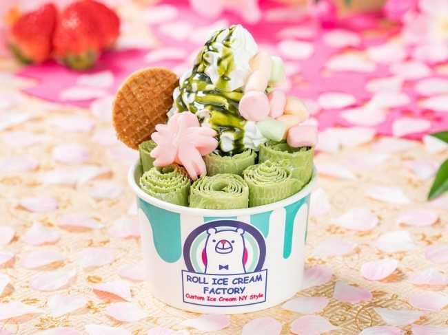 Roll-ice-cream-factory