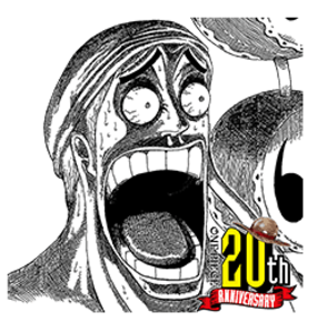 ワンピース20周年の記念漫画スタンプ
