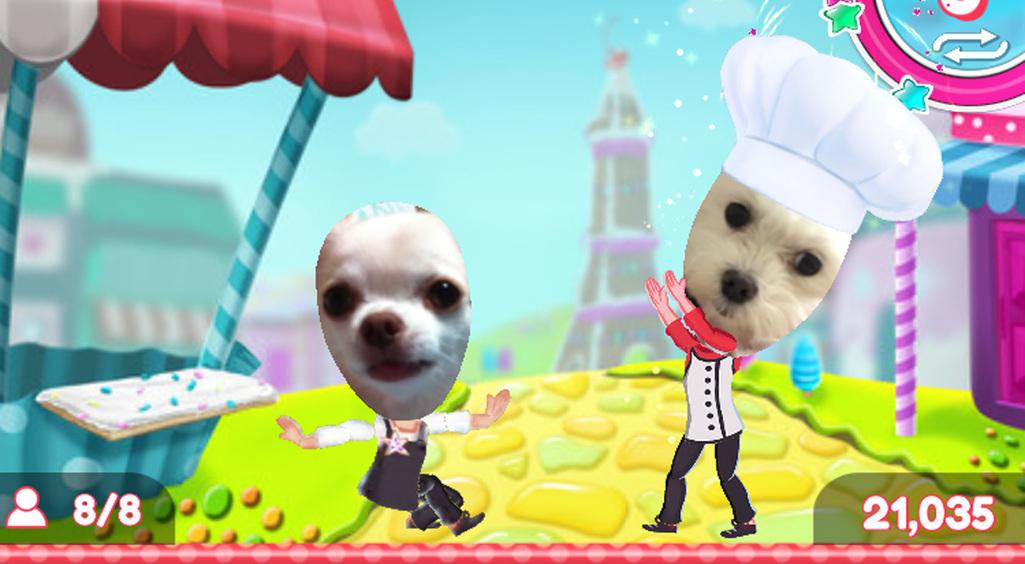 独特なキャラからもう目が離せないwwポップでクレイジーなケーキのパズル☆【Crazy Cake Swap】