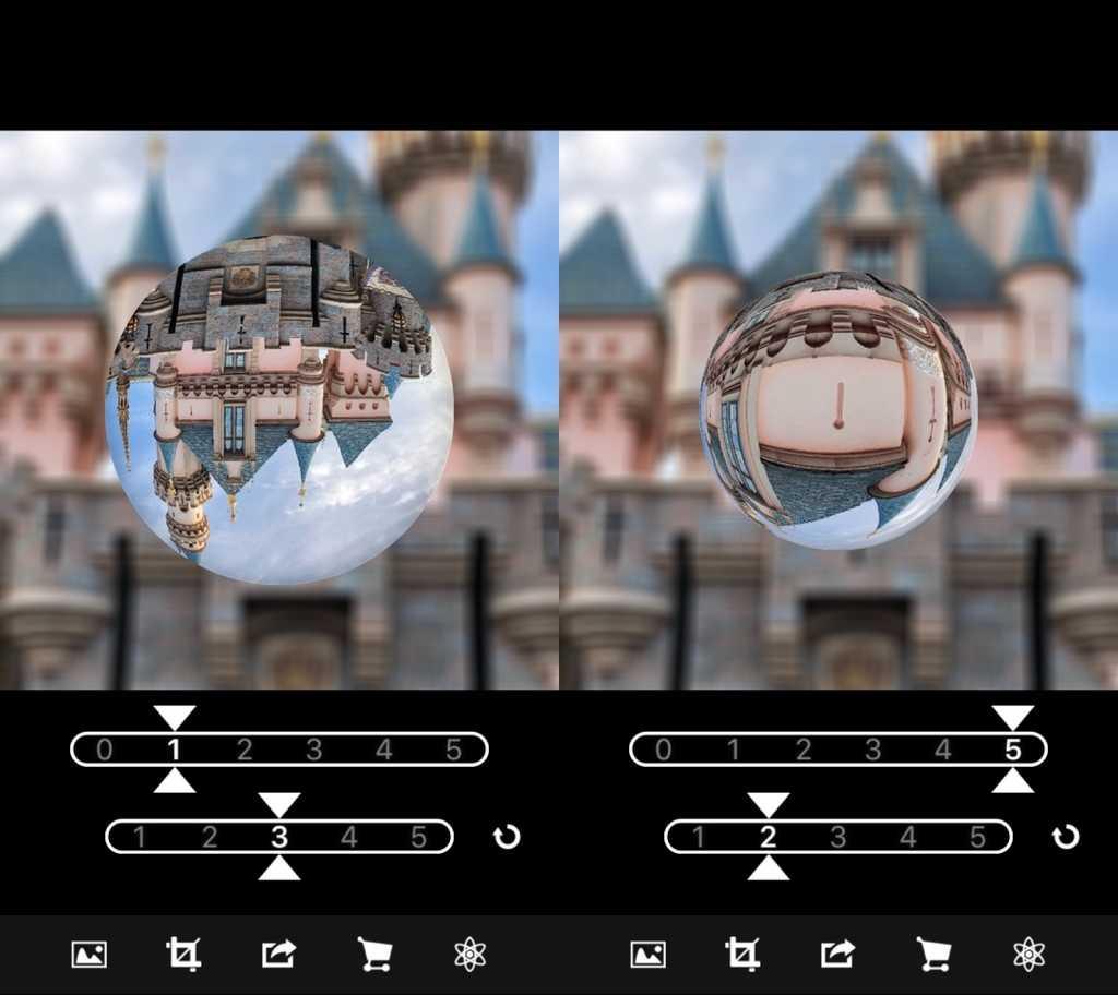 水晶風画像の加工ができるアプリ画像
