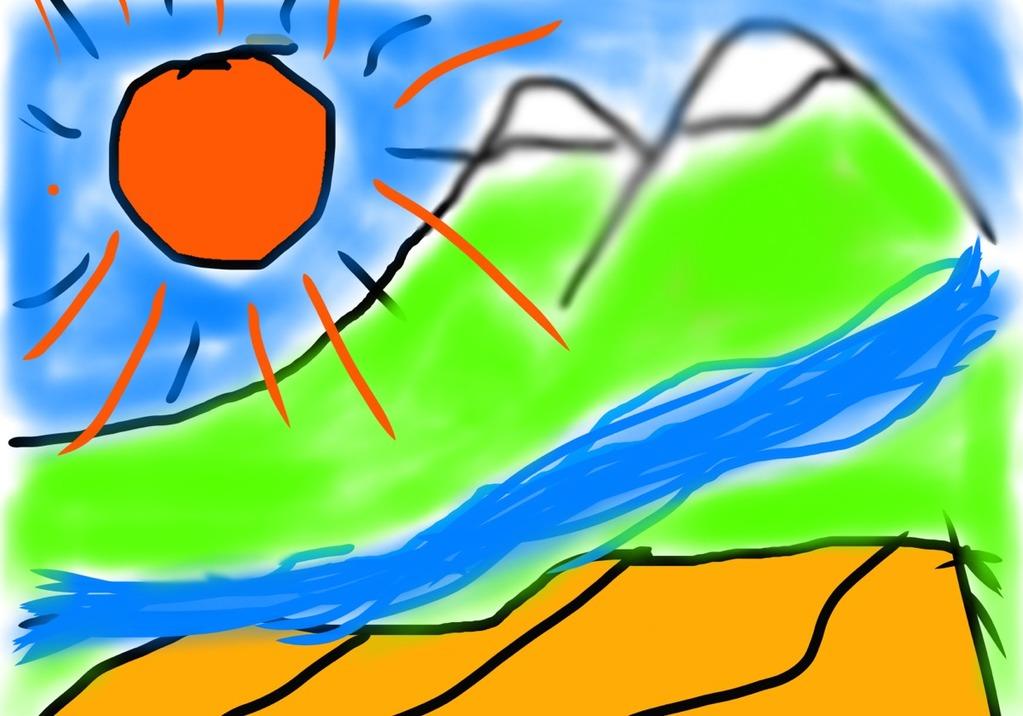GoArtトモトモさんの風景画