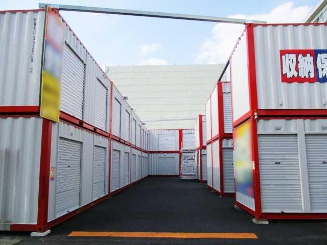 一般的なレンタル倉庫のイメージ写真