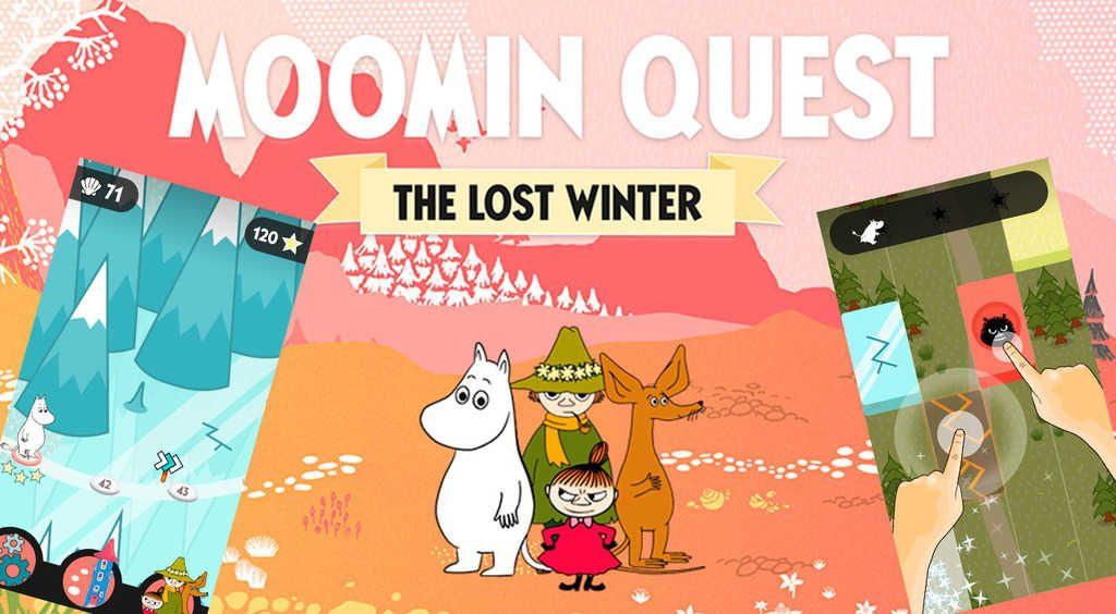 タイルをリズミカルにタップ!ムーミン谷を探検しよう【Moomin Quest】