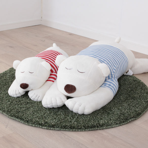ニトリのしろくま抱き枕はすごくかわいい
