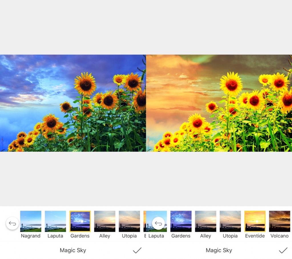 camera360アニメ風風景加工かわいい君の名は
