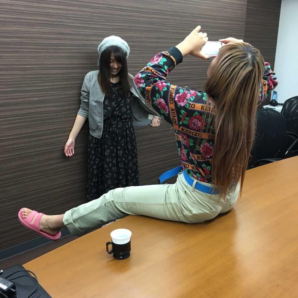 Ayamiを撮るえりなっち