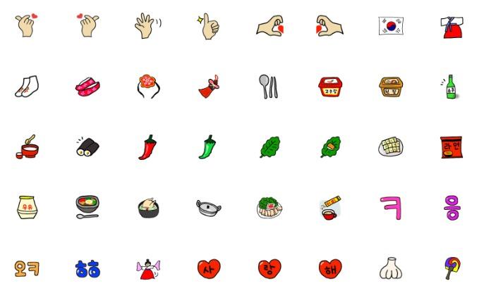 line-creators-emoji-korean-style
