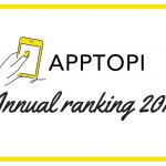APPTOPI 2018年の人気記事をランキング!第1位はあの『〇〇〇』でした♡