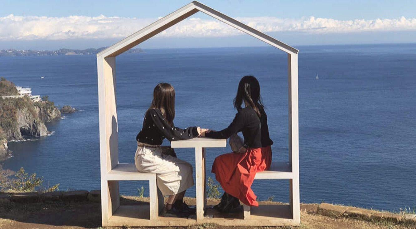 熱海に女子旅♡インスタ映えと話題のアカオハーブ&ローズガーデンに行ってきた!