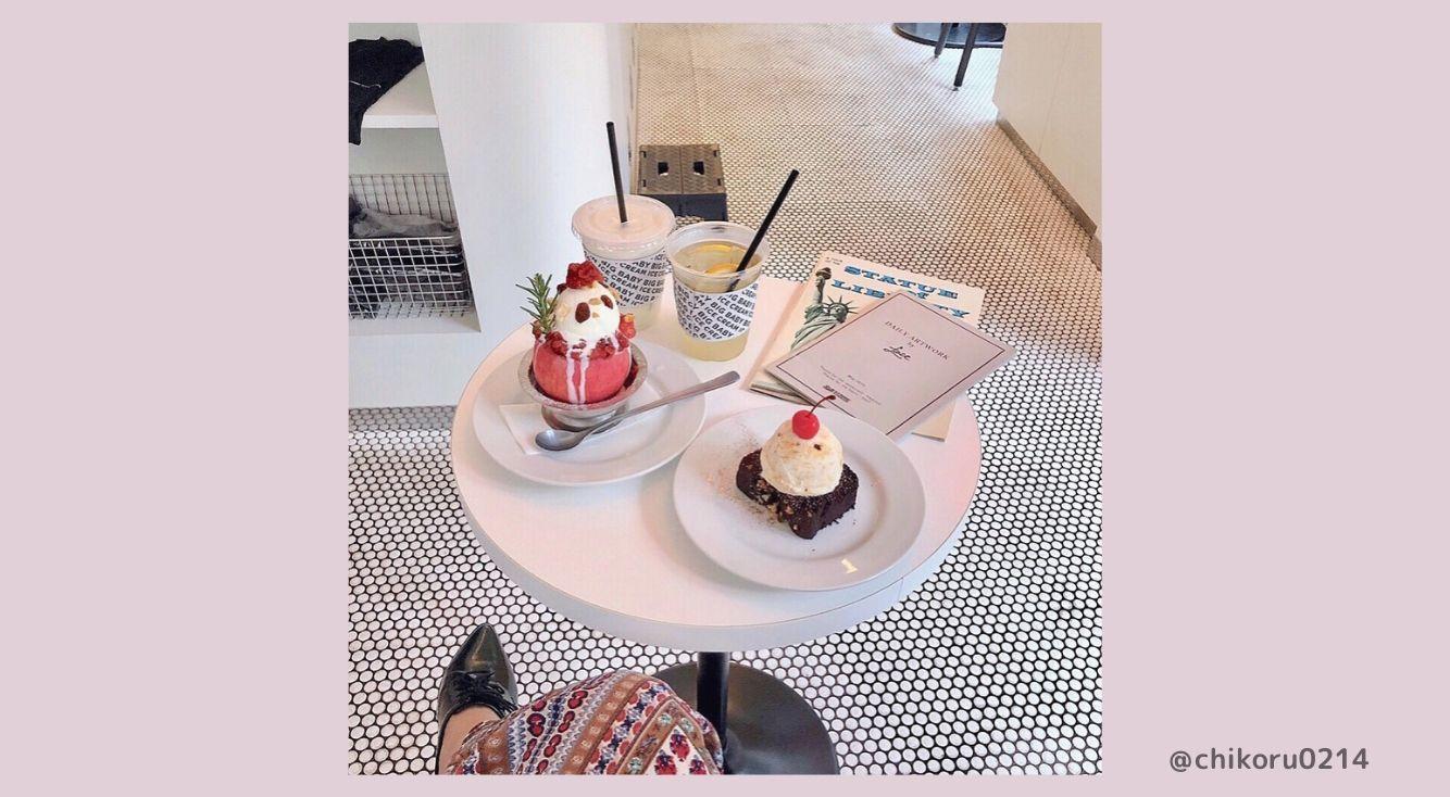 韓国っぽアイスクリームが人気【BIG BABY ICE CREAM(ビッグベイビーアイスクリーム)】