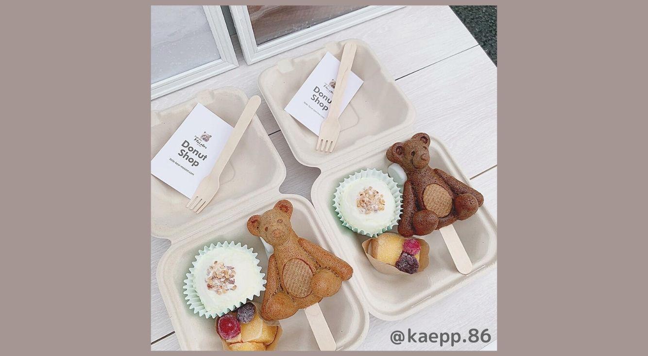 週末限定!下北沢「リトルベアマイスター」のテディベア型ドーナツが可愛すぎ♡