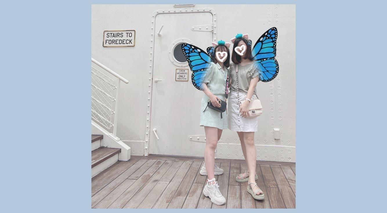 ひらひら可愛い♥SNOWでできる「蝶々スタンプ加工」まとめ!