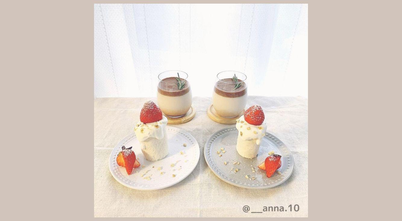 #おうちカフェ におすすめ♡超かわいい『いちごのキャンドルケーキ』の作り方を紹介!