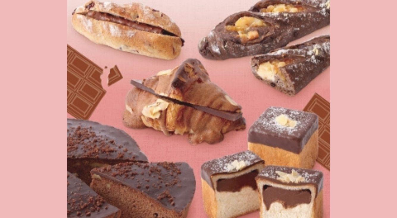 バレンタインの季節に食べたい♡ル ビアン関西店舗で「ショコラフェア」が開催