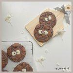 くりっとした目が超かわいい♡韓国で流行りの『ブラウニークッキー』のレシピを紹介!