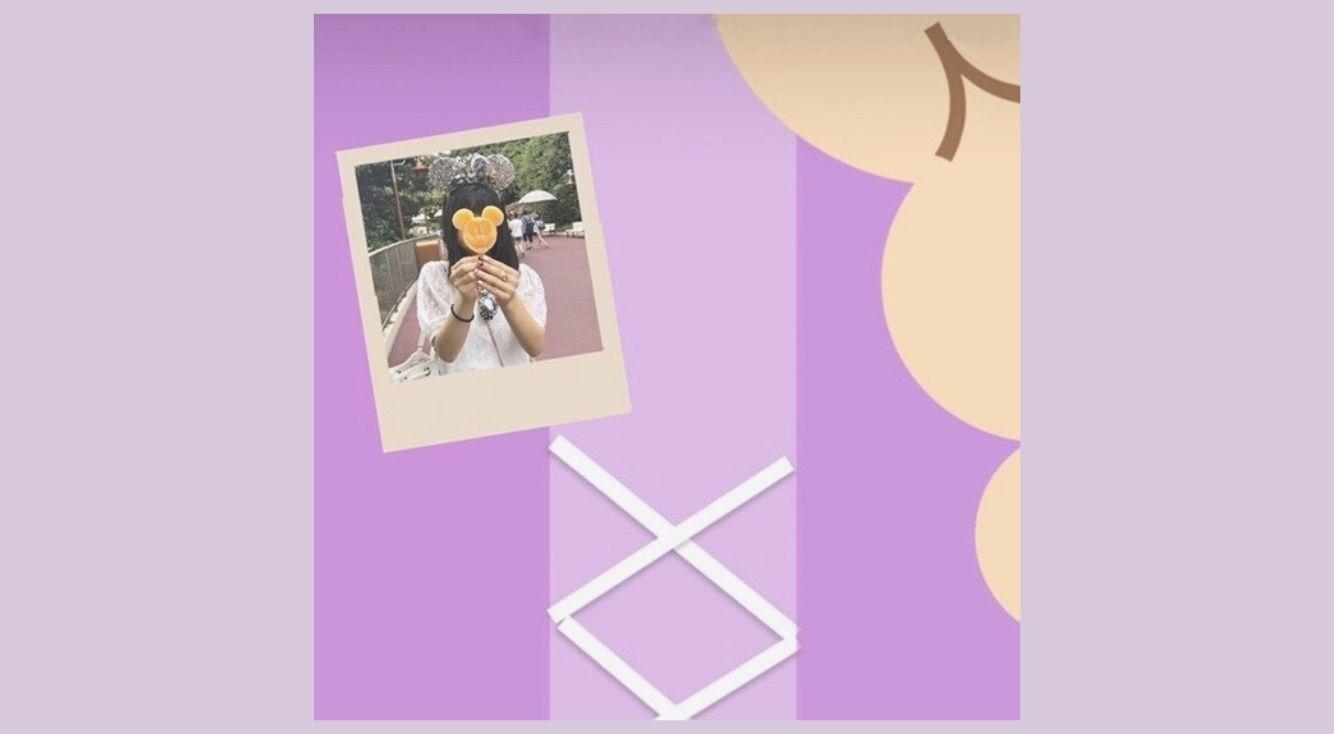 インスタストーリーで簡単♥ディズニー加工のやり方!プリンセス加工・ミッキー加工がかわいい!