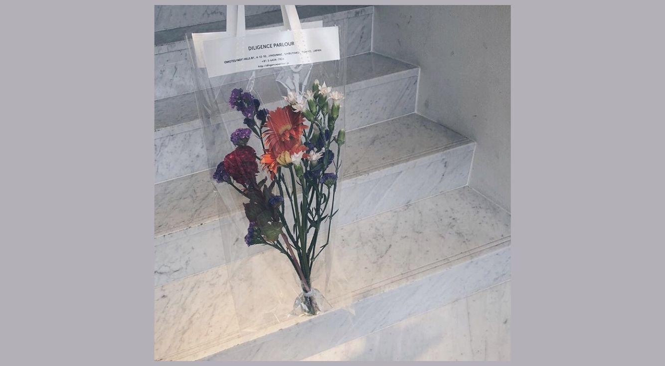 パッケージまで可愛い♡表参道のお花屋さん・DILIGENCE PARLOUR(ディリジェンスパーラー)を紹介!