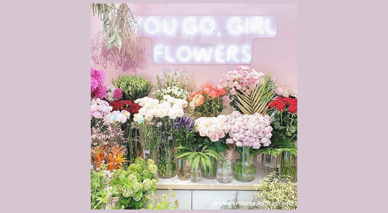 日々の生活にお花を♡「FLOWERS Bake&Icecream」のフラワーフードや雑貨を紹介♡