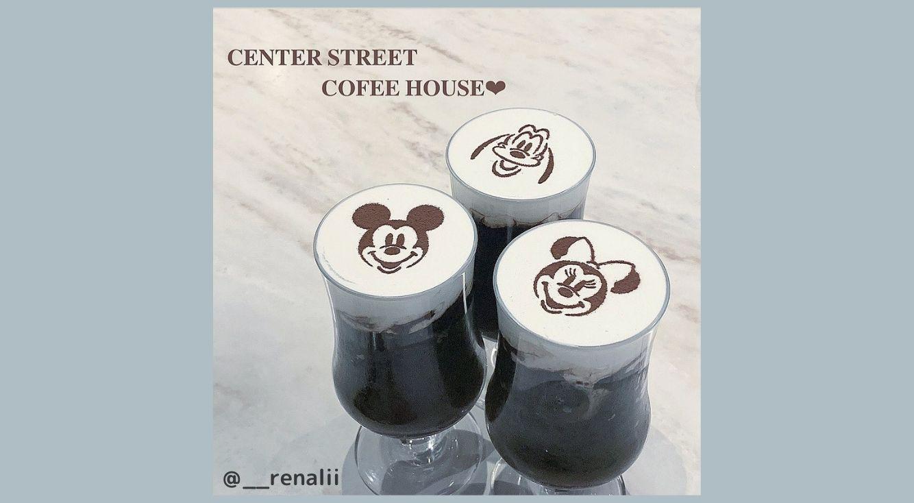 【ディズニー】センターストリート・コーヒーハウスのカフェモカが可愛い♡メニューや予約方法についても紹介!