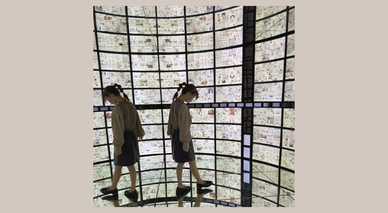 インスタ投稿が壁一面に映し出される?!「Galaxy Harajuku」の