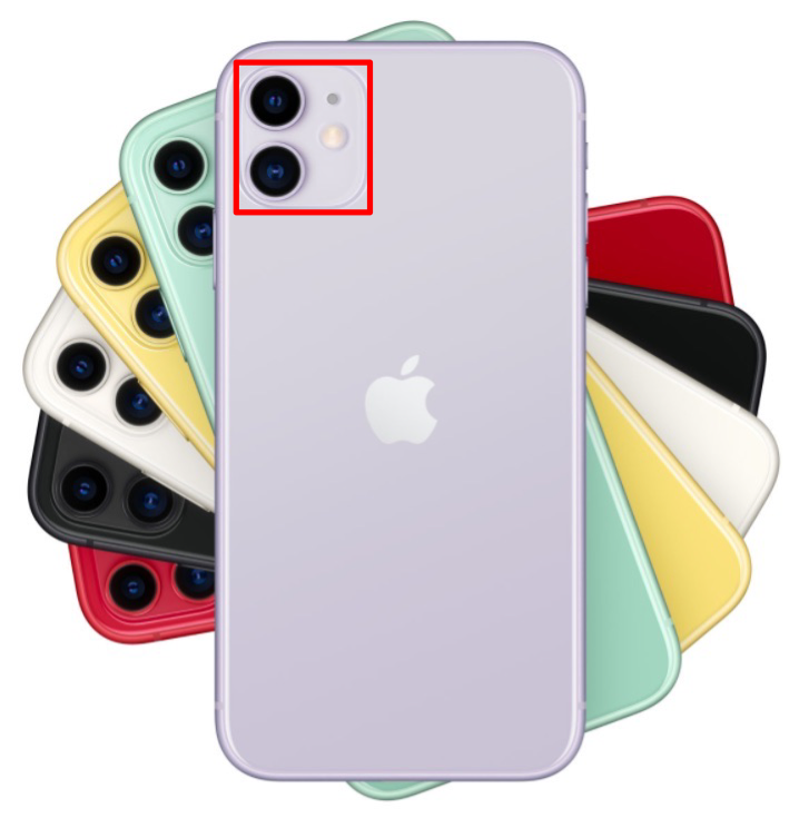 iPhoneデュアルカメラ画像