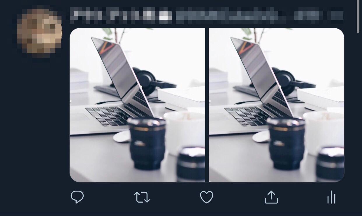画像2枚のとき