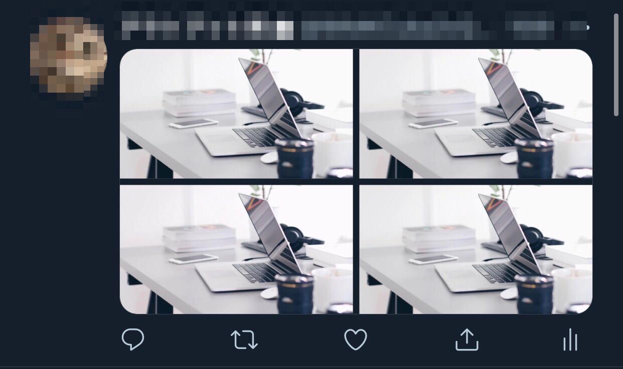 画像4枚のとき