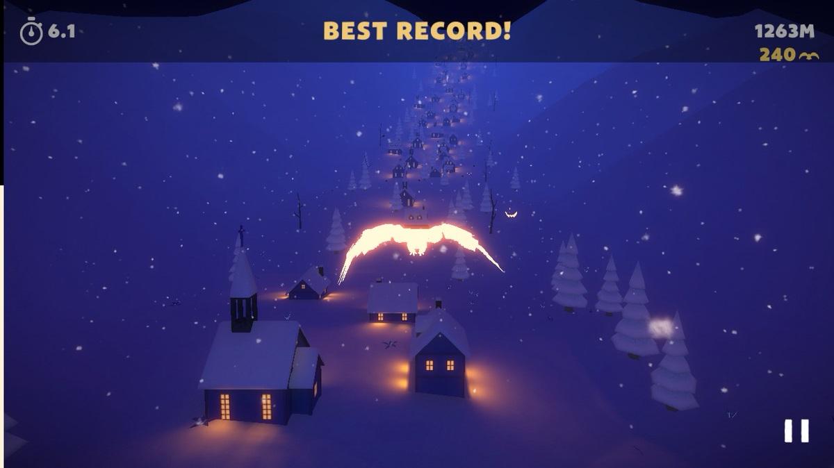 ホワイトトリップのゲーム画面