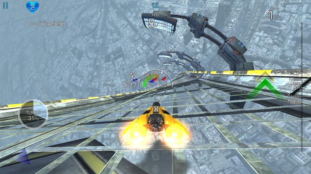 超スピードのレースゲームAG-drive