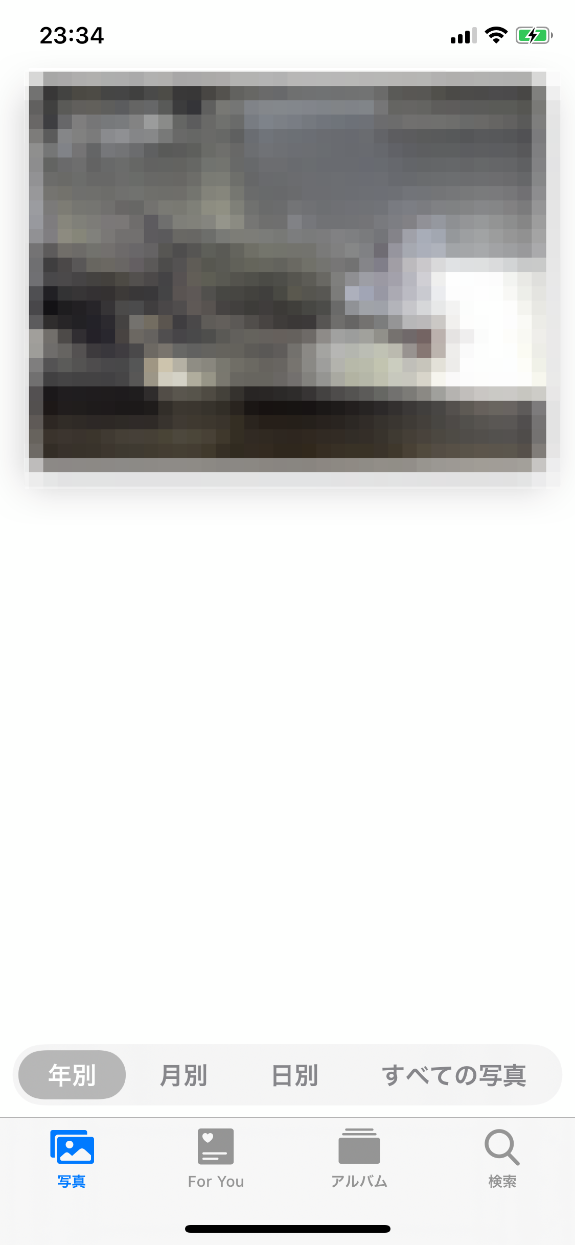iPhone 写真アプリ