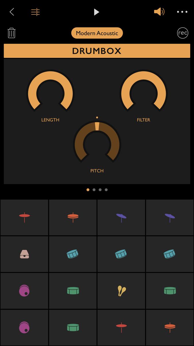 Ggooveboxの打楽器音「DRUMBOX」