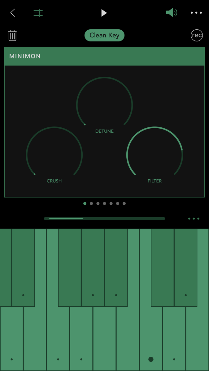 Ggooveboxの電子音「MINIMON」