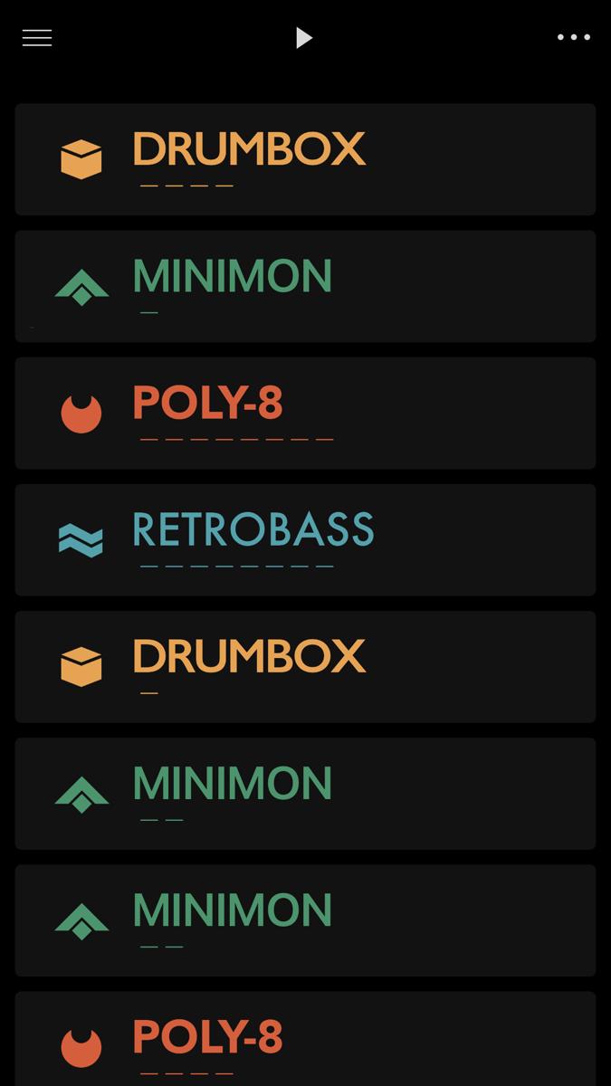 Ggooveboxのメロディ・リズム・パターン一覧