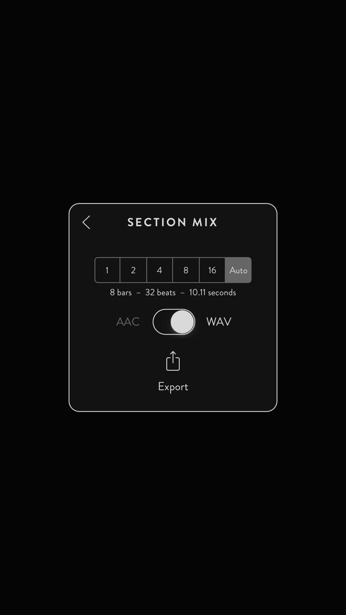 Ggooveboxの音源をエキスポートする方法