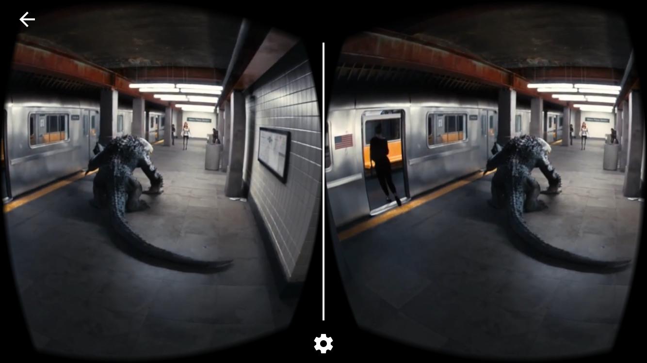VRで怪物映画