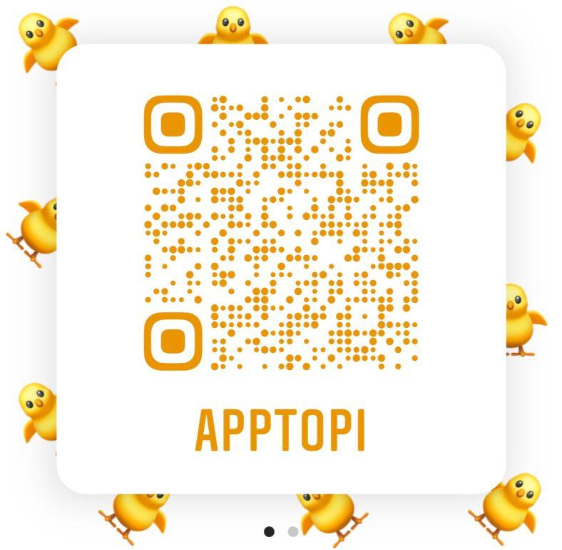 APPTOPI QRコード