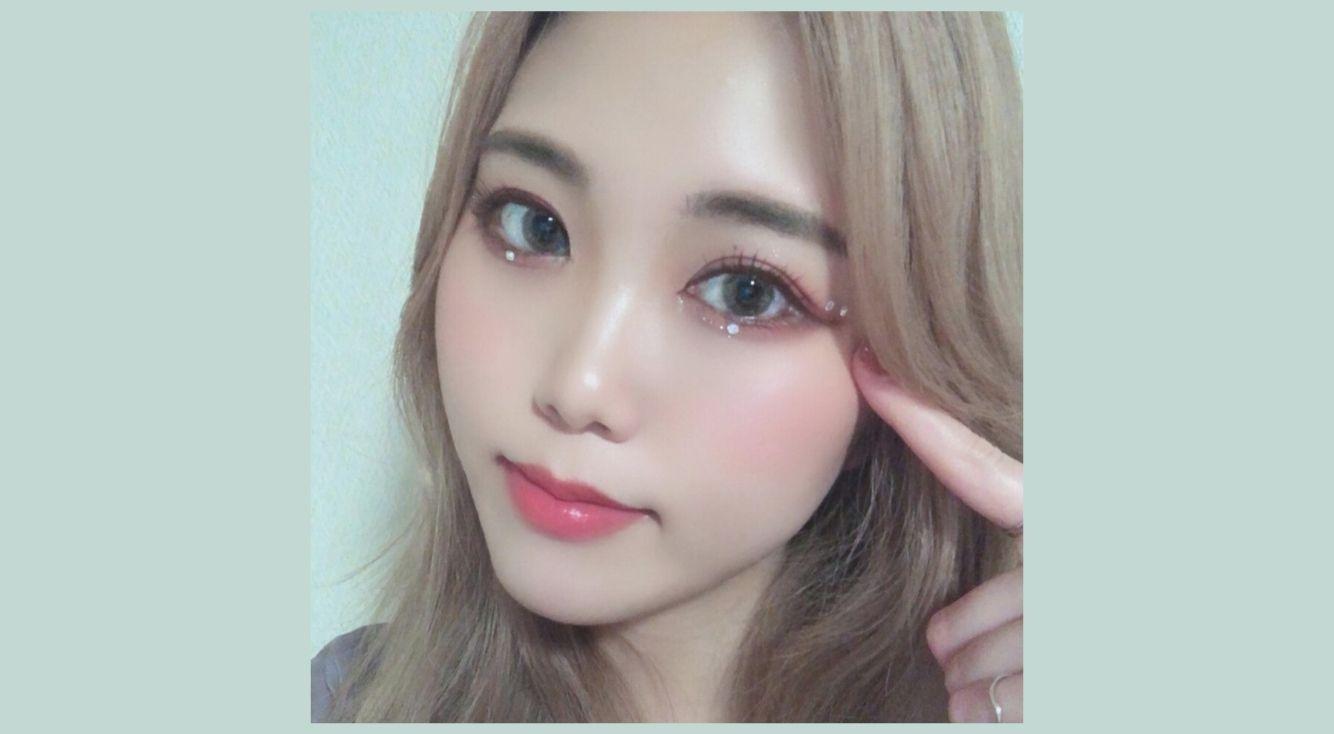 韓国アイドル風「ストーンメイク」が流行中!やり方を教えます♡アプリを使った方法も