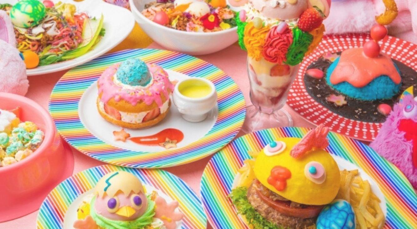 パワフルカラーで身も心も元気に!「KAWAII MONSTER CAFE」で春フェアが開催♡