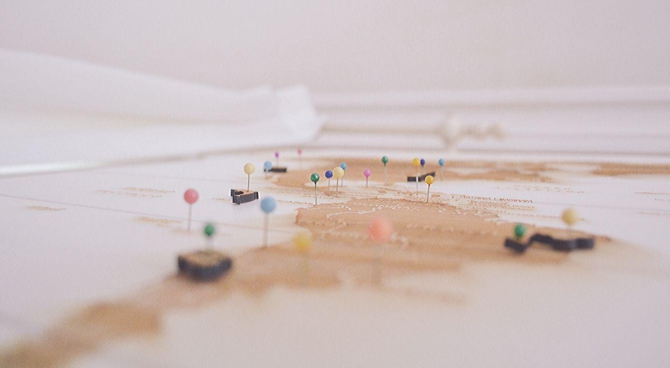 Googleマップで複数の住所にピンを立てる方法!一括表示ツールも紹介!