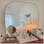 お部屋の広見えは「鏡の重ね使い」で叶う♡誰でも簡単にできるテクニックを紹介!