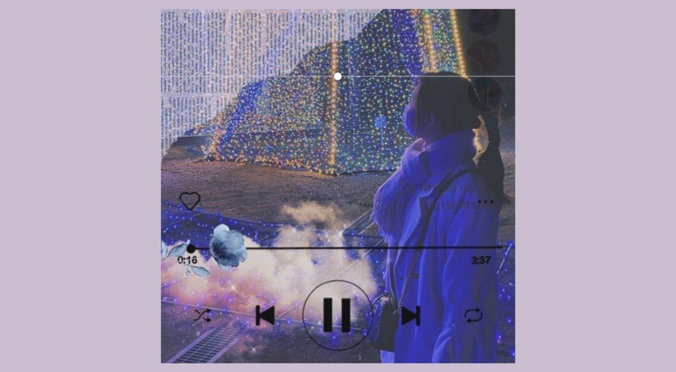 PicsArtでできるミュージックプレイヤー風加工を紹介!「次へ」を押すだけでお洒落な画像が完成!