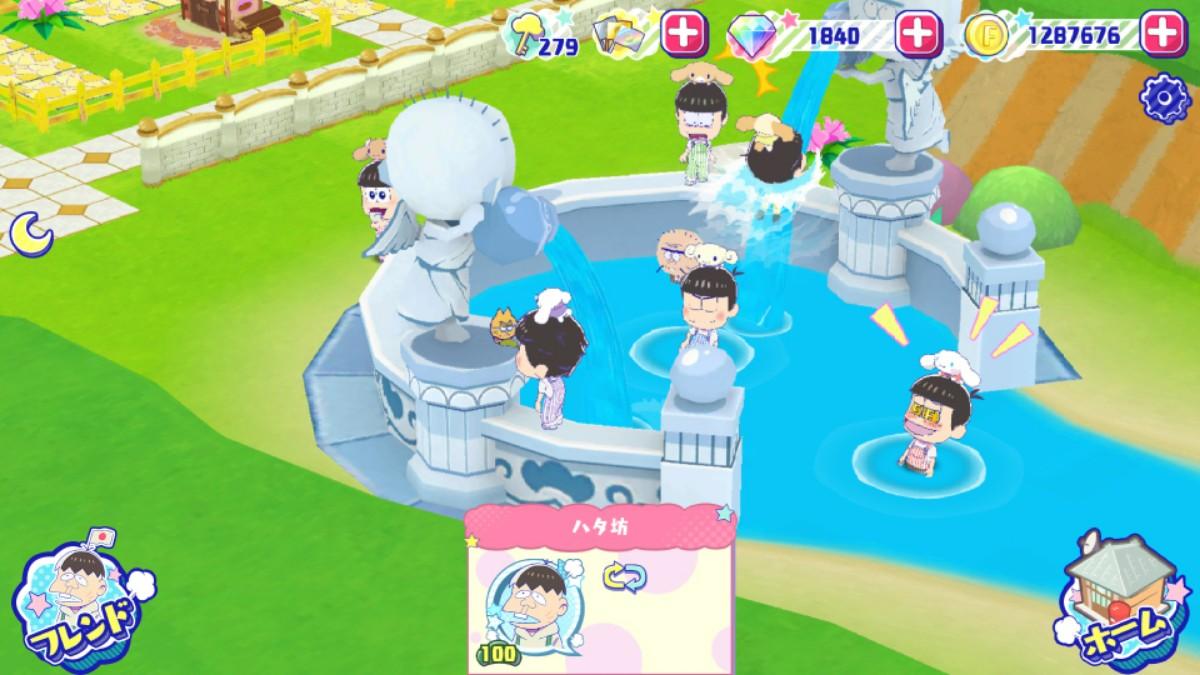 シナモロール6つ子 女神の泉