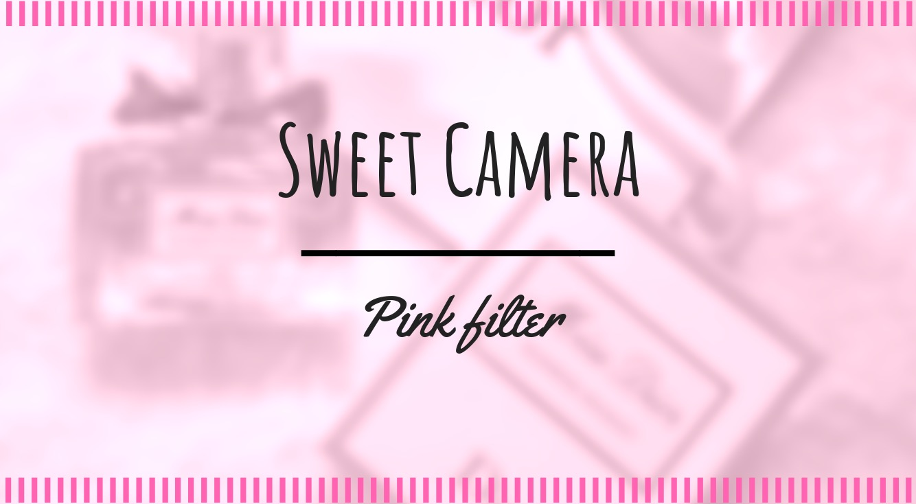 【ピンク加工】無料アプリ「SweetCamera」で、有料アプリ「Analog Paris」に似せてみたら、意外な結果に…!